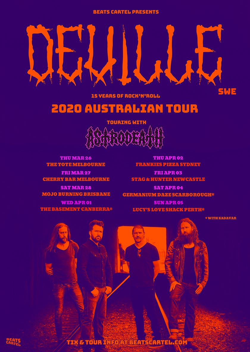DEVILLE WEB Tour Poster